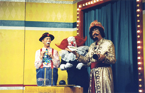 Shawn on the Bozo Show - Grand Prize Game! - YouTube   Bozo The Clown Show Game