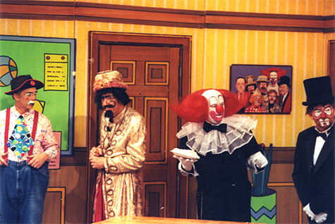 Kevin on the Bozo Show - YouTube   Bozo The Clown Show Game